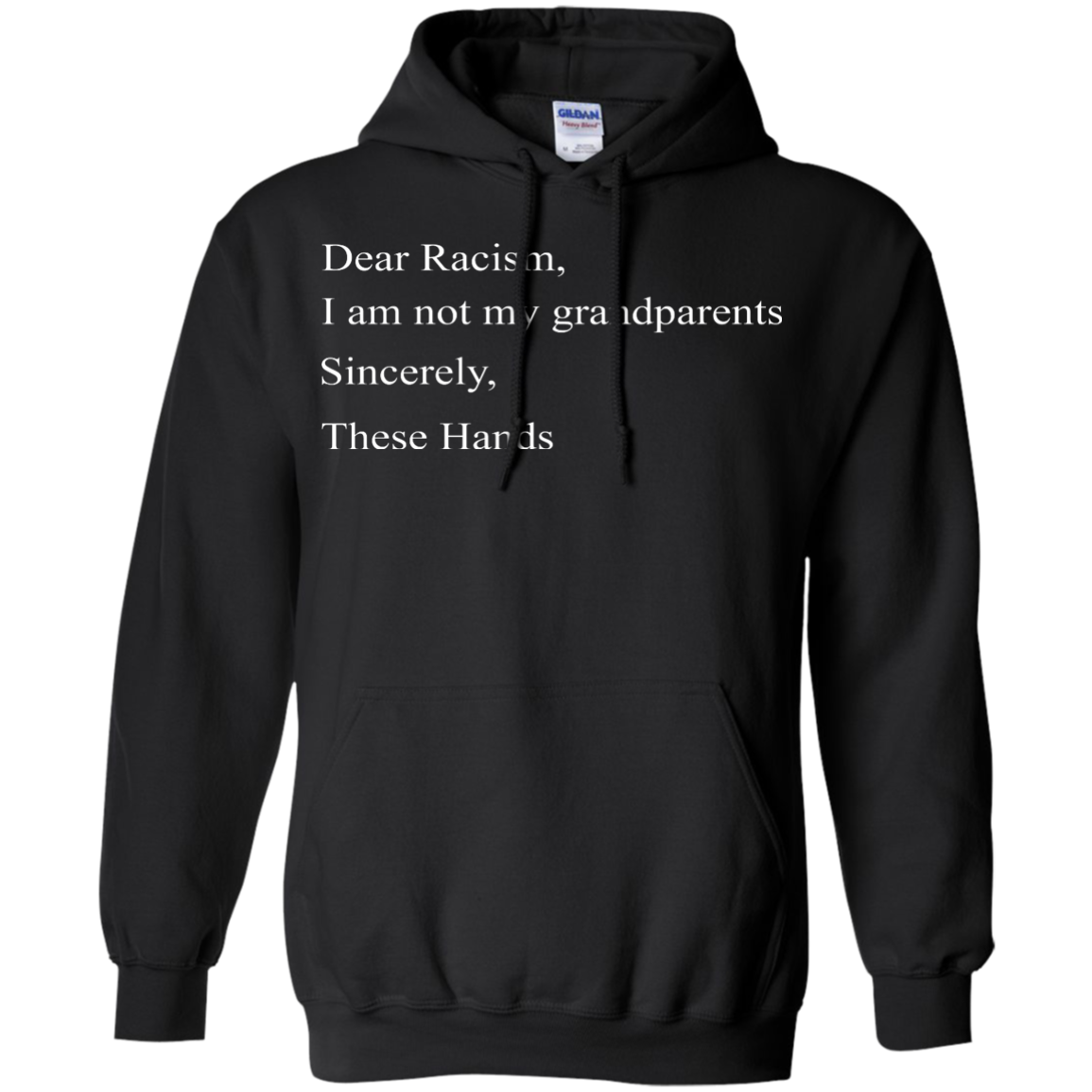 image 1040px Dear Racism, I am not my grandparents T Shirts, Hoodies