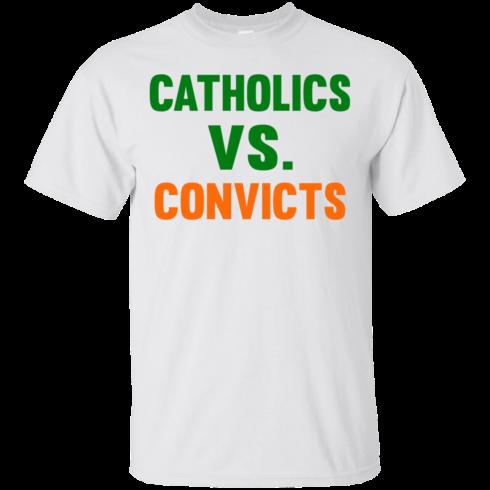 image 156 490x490px Catholics Vs Convicts T Shirt, Hoodies, Tank top