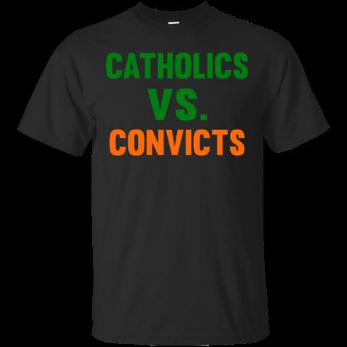 image 157 490x490px Catholics Vs Convicts T Shirt, Hoodies, Tank top