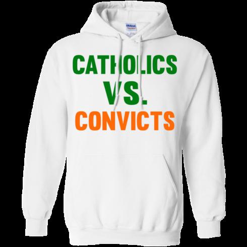 image 160 490x490px Catholics Vs Convicts T Shirt, Hoodies, Tank top