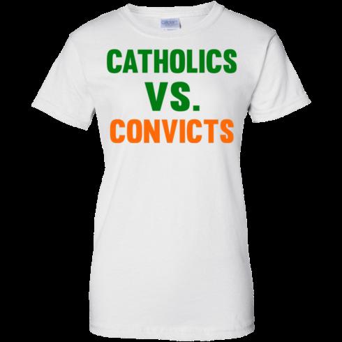 image 162 490x490px Catholics Vs Convicts T Shirt, Hoodies, Tank top
