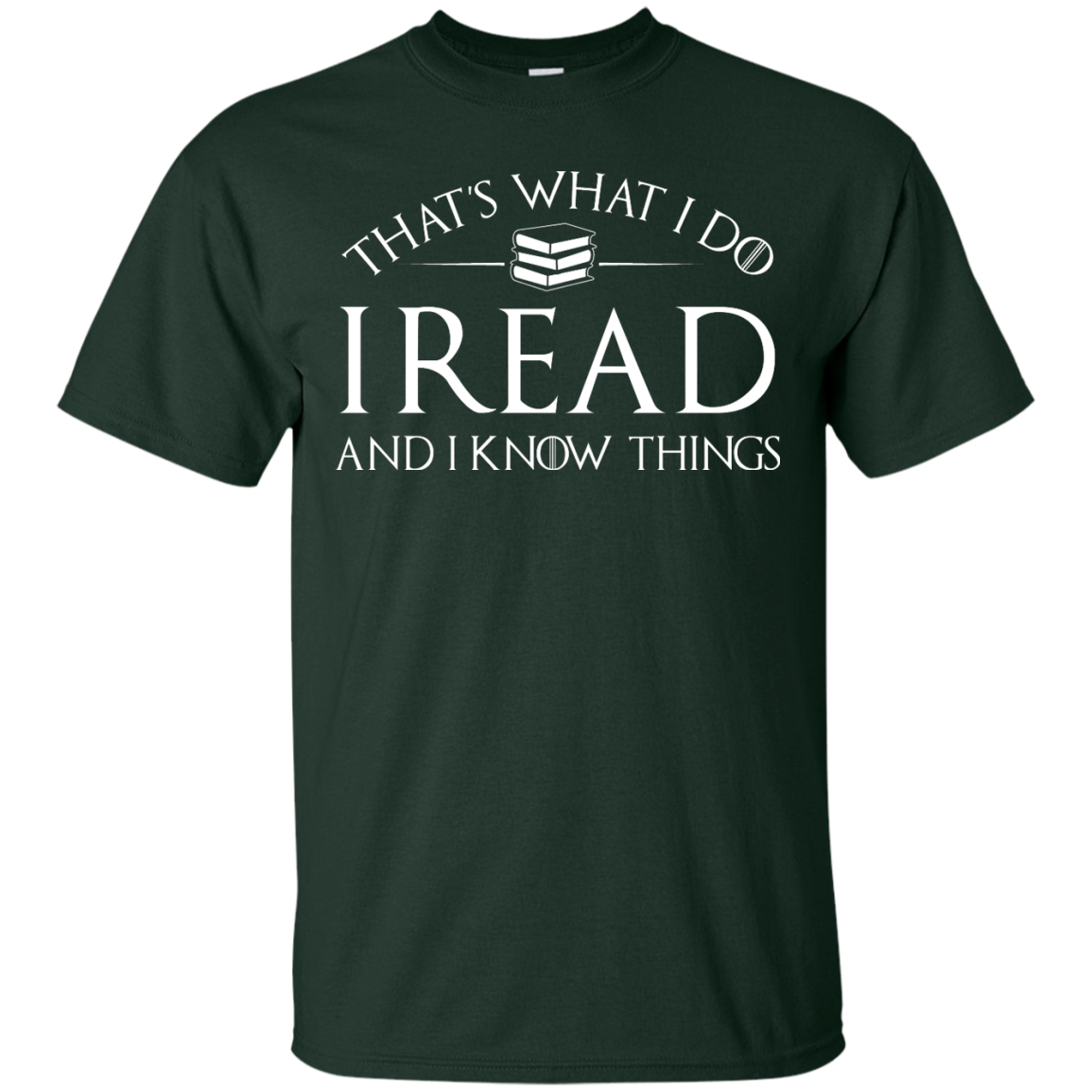 image 166px That's What I Do I Read and I Know Things T Shirt, Hoodies