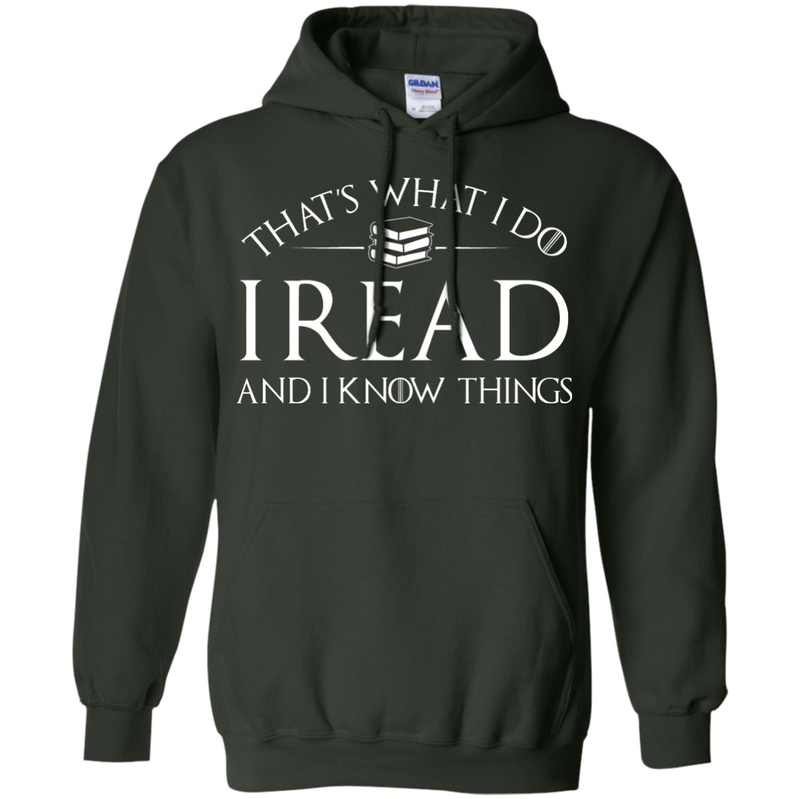 image 170px That's What I Do I Read and I Know Things T Shirt, Hoodies