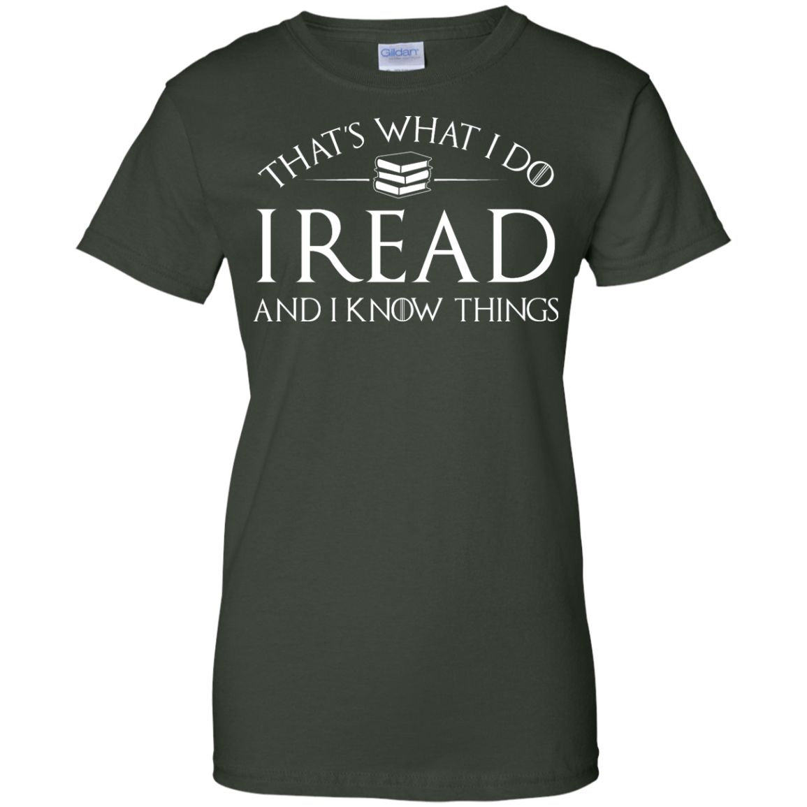 image 173px That's What I Do I Read and I Know Things T Shirt, Hoodies