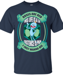 image 19 247x296px Mr Meeseeks: Roses Are Red This Life Is A Lie T Shirts