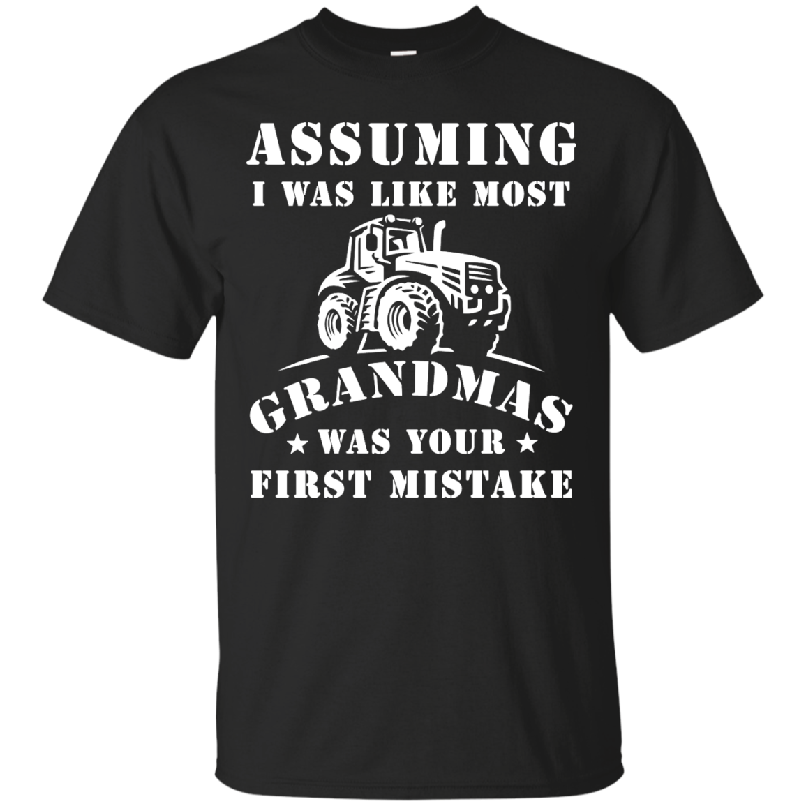 image 233px Assuming I Was Like Most Grandmas Was Your First Mistake T Shirts