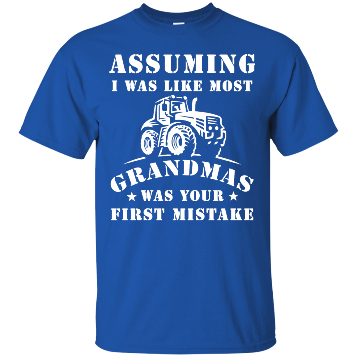 image 234px Assuming I Was Like Most Grandmas Was Your First Mistake T Shirts
