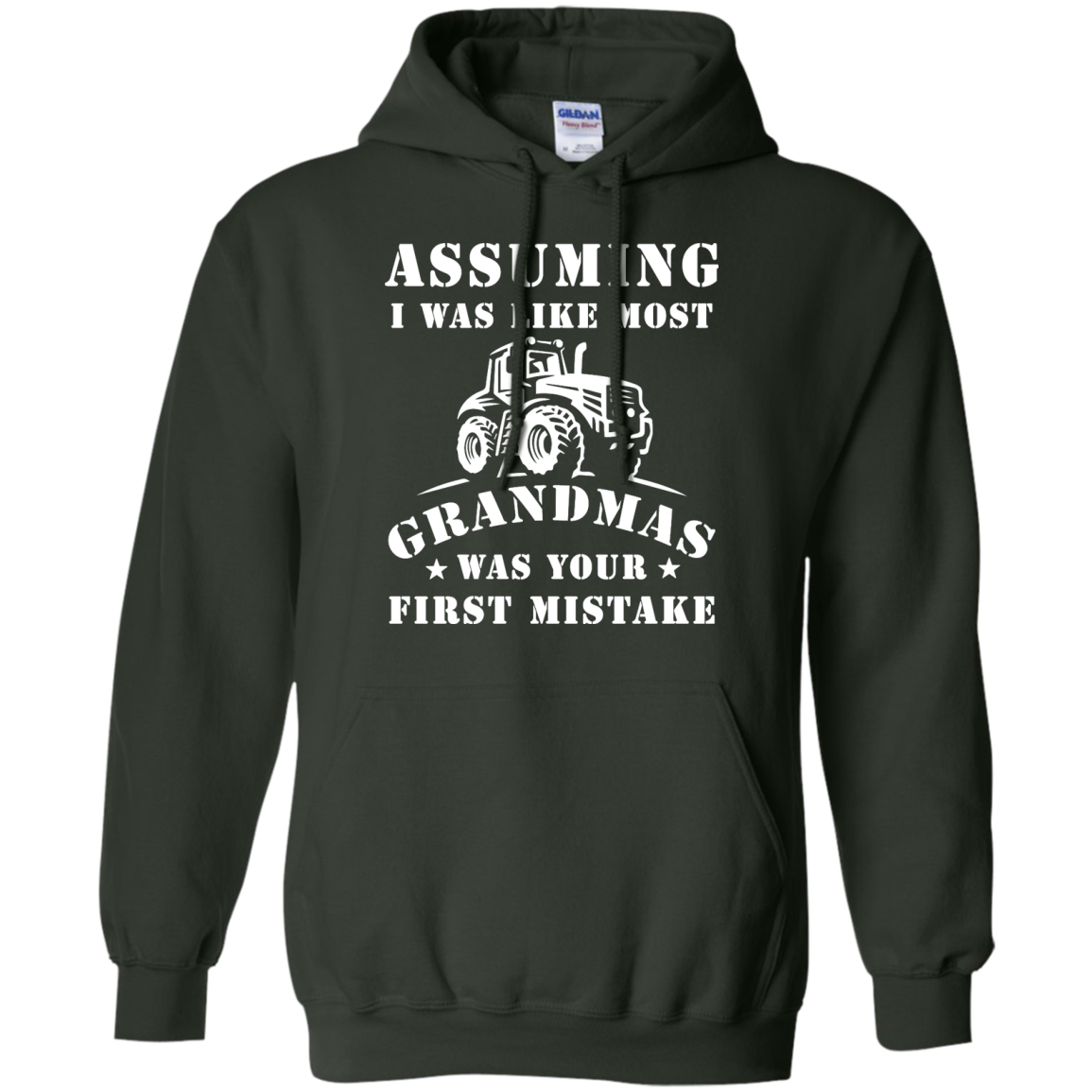 image 240px Assuming I Was Like Most Grandmas Was Your First Mistake T Shirts