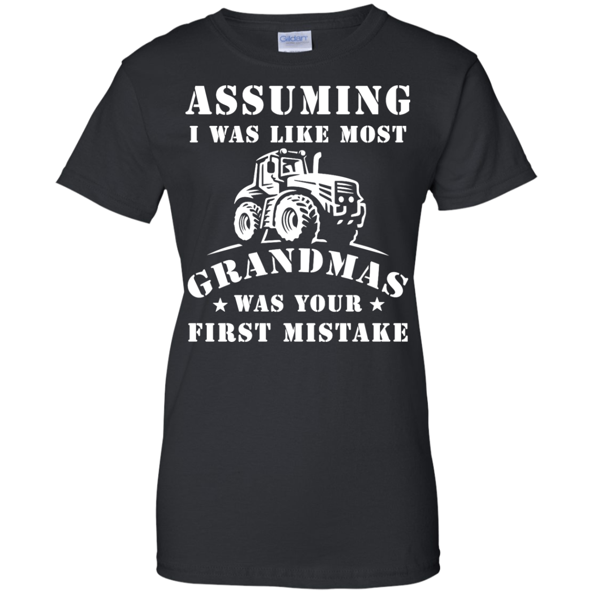 image 241px Assuming I Was Like Most Grandmas Was Your First Mistake T Shirts