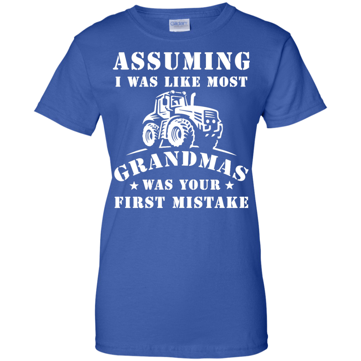 image 242px Assuming I Was Like Most Grandmas Was Your First Mistake T Shirts