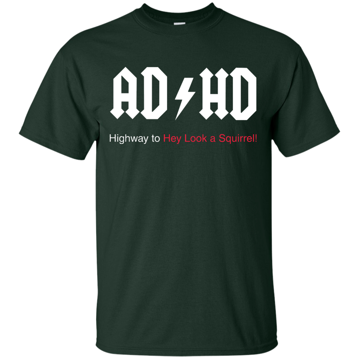 image 311px ADHD Awareness Shirt, Highway to Hey Look a Squirrel T Shirts, Hoodies