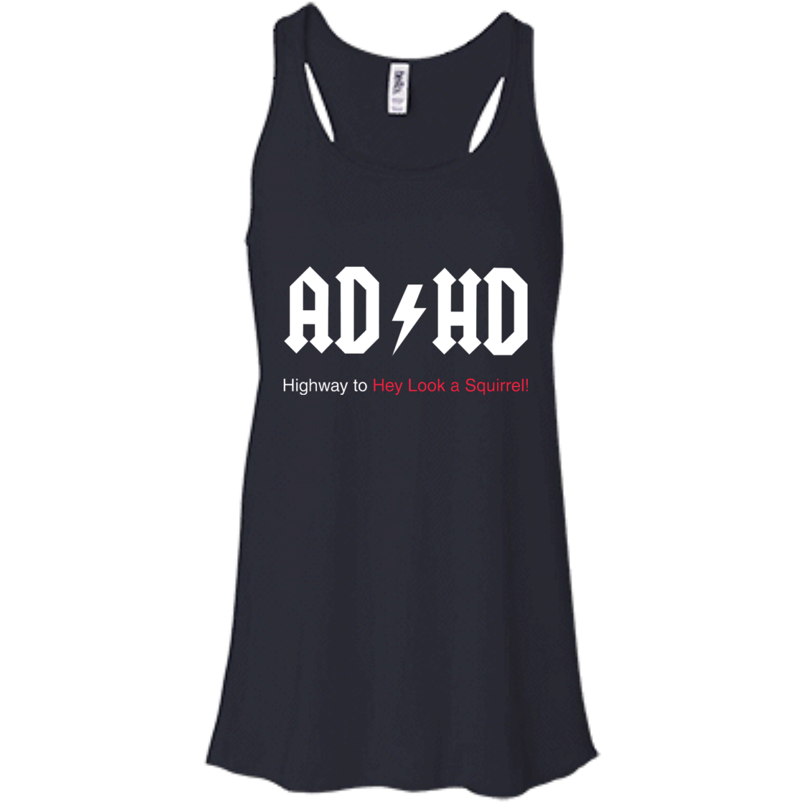 image 313px ADHD Awareness Shirt, Highway to Hey Look a Squirrel T Shirts, Hoodies