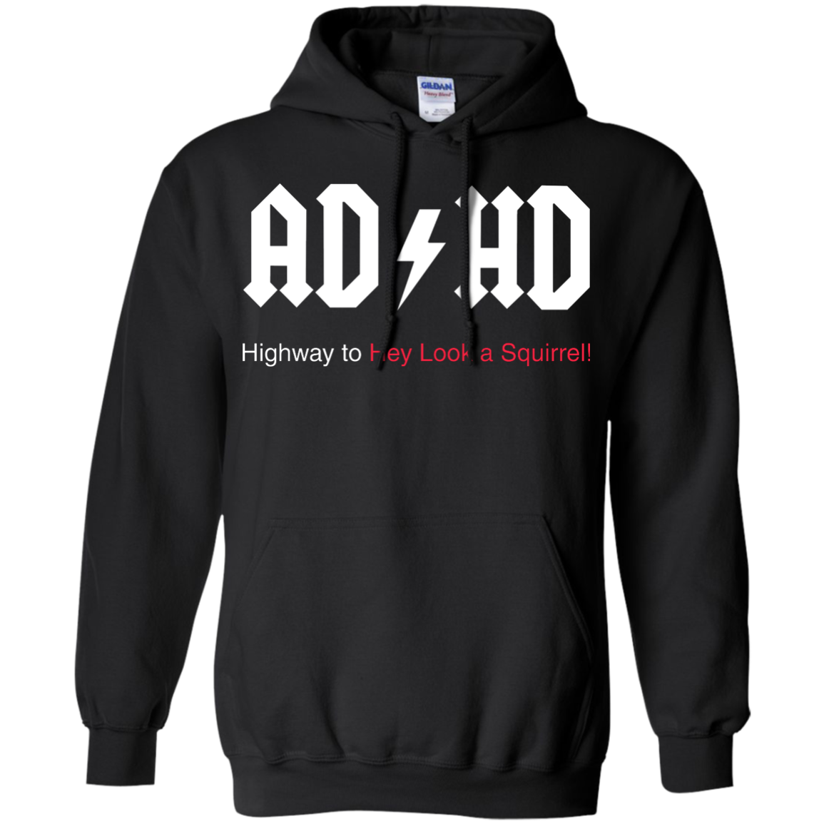 image 315px ADHD Awareness Shirt, Highway to Hey Look a Squirrel T Shirts, Hoodies