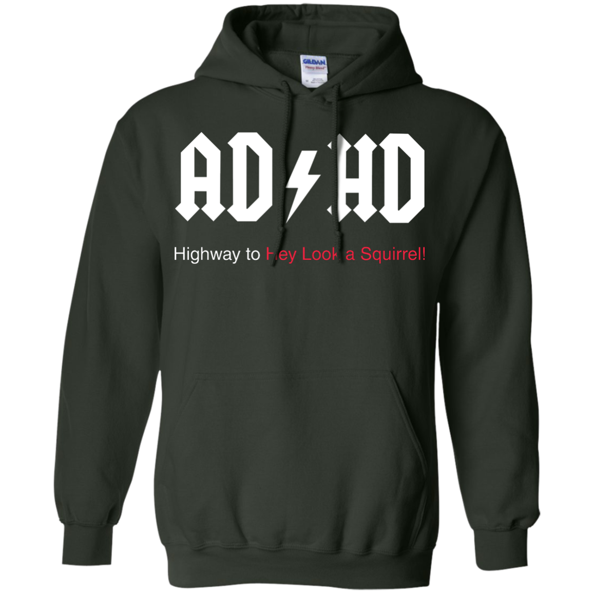 image 316px ADHD Awareness Shirt, Highway to Hey Look a Squirrel T Shirts, Hoodies