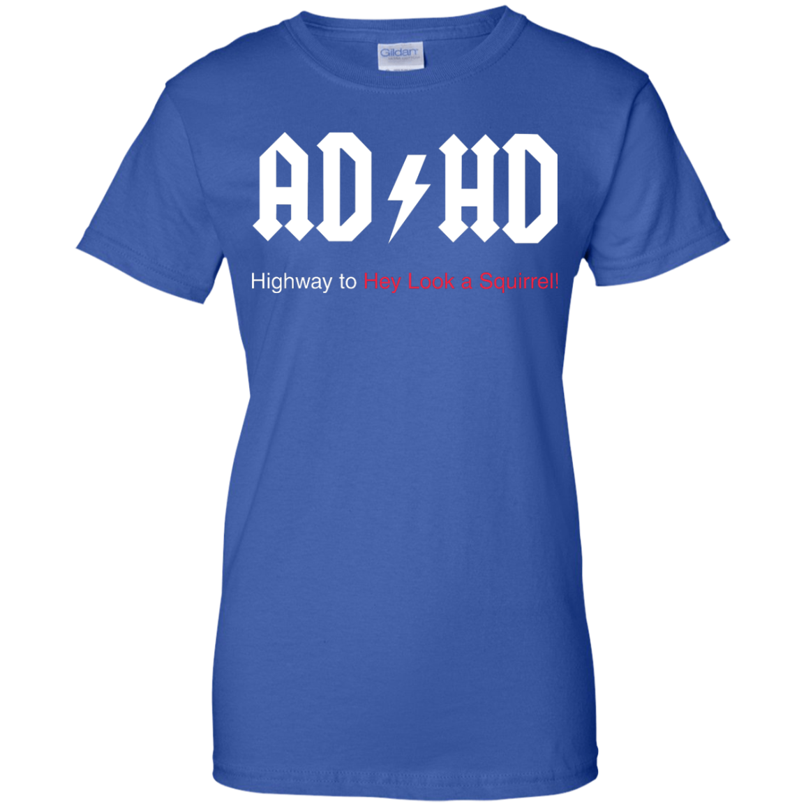 image 319px ADHD Awareness Shirt, Highway to Hey Look a Squirrel T Shirts, Hoodies
