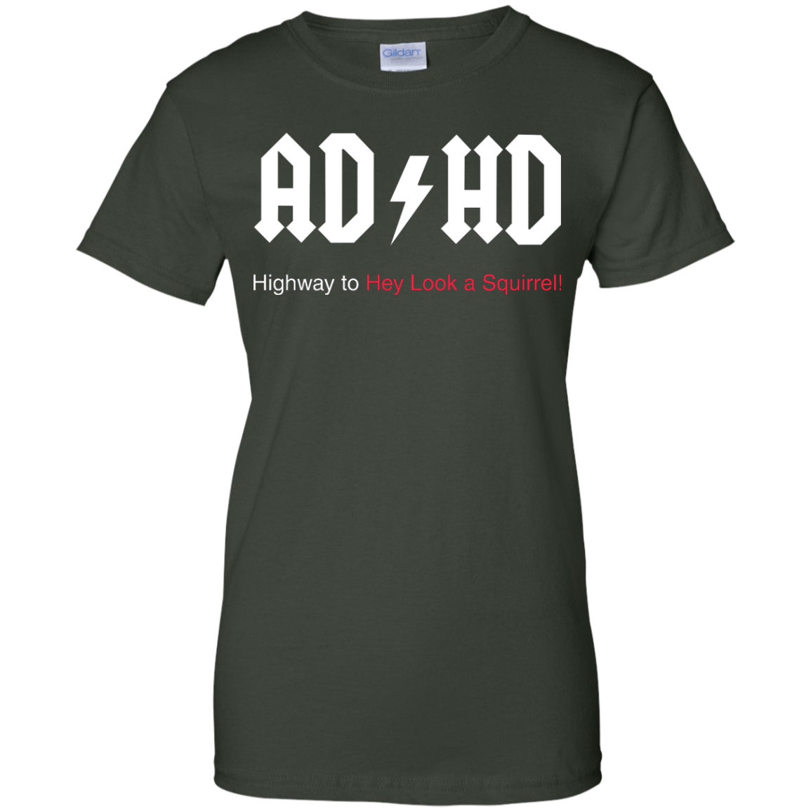 image 320px ADHD Awareness Shirt, Highway to Hey Look a Squirrel T Shirts, Hoodies