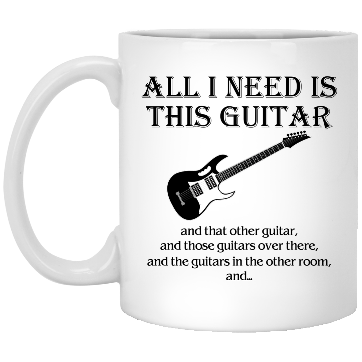 image 375px All I Need Is This Guitar and That Other Guitar Coffee Mug