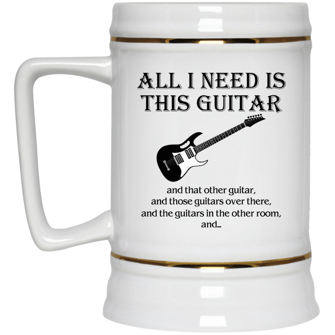 image 377px All I Need Is This Guitar and That Other Guitar Coffee Mug