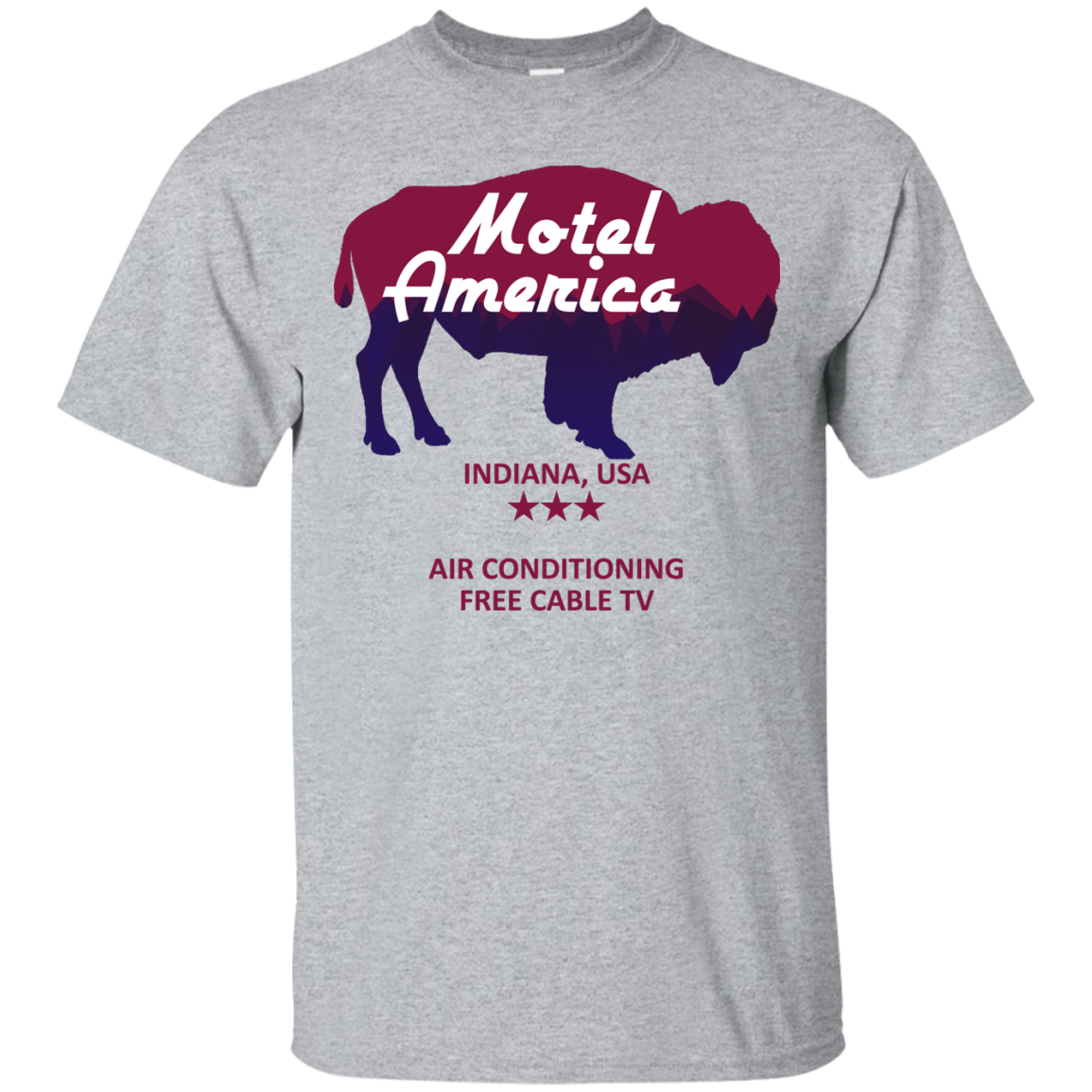 image 378px Motel America, Indiana USA Shirt Home of the Gods T Shirts