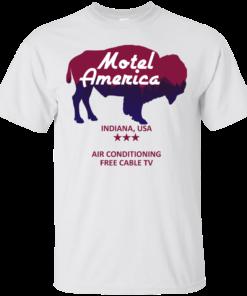 image 379 247x296px Motel America, Indiana USA Shirt Home of the Gods T Shirts
