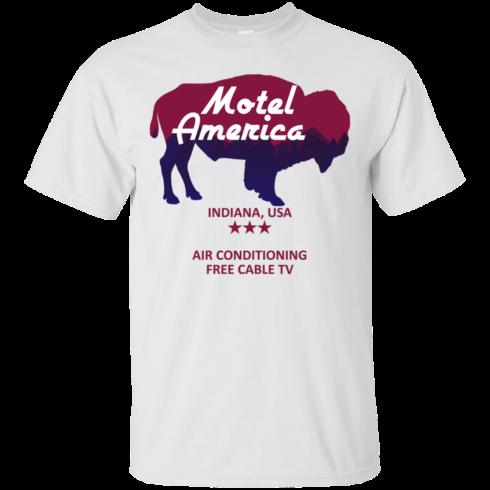 image 379 490x490px Motel America, Indiana USA Shirt Home of the Gods T Shirts