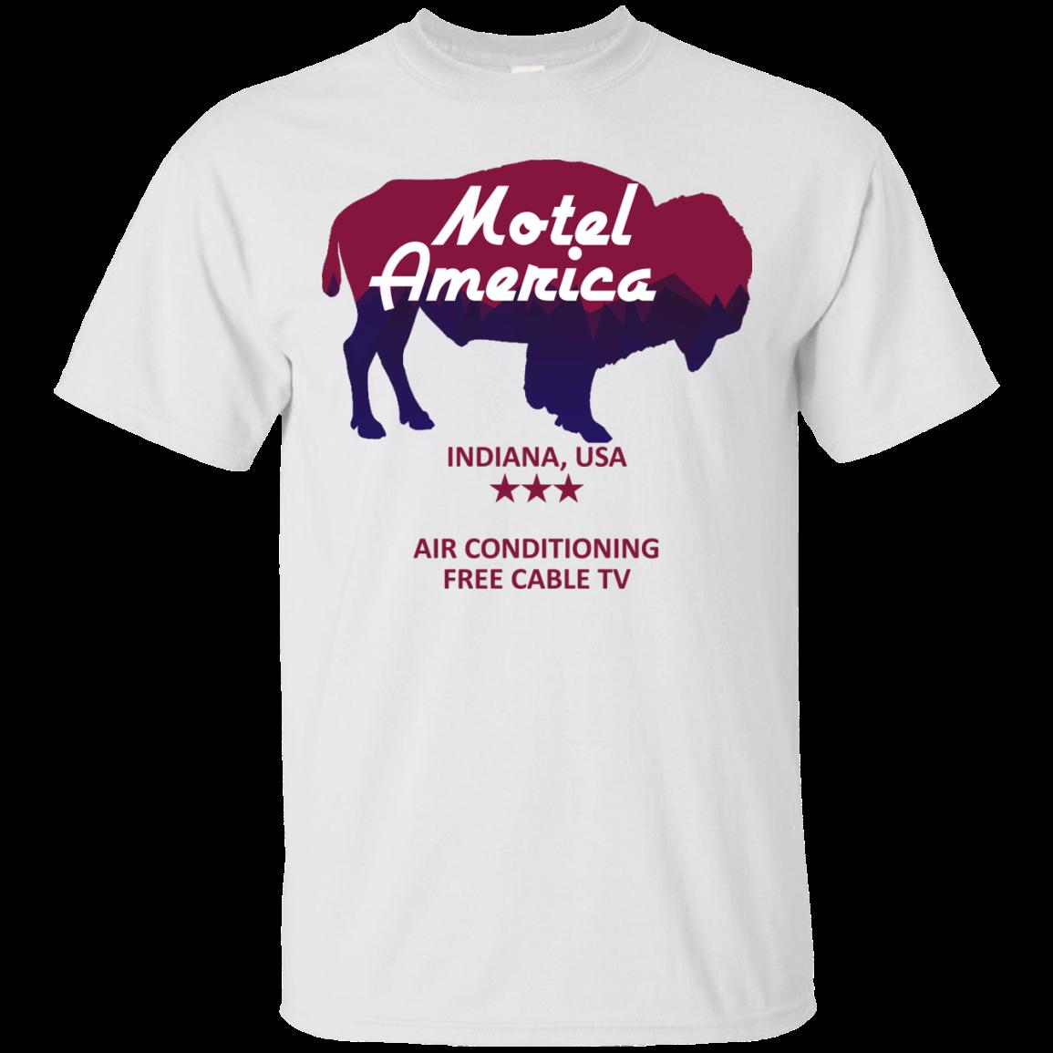 image 379px Motel America, Indiana USA Shirt Home of the Gods T Shirts