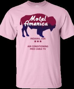 image 380 247x296px Motel America, Indiana USA Shirt Home of the Gods T Shirts