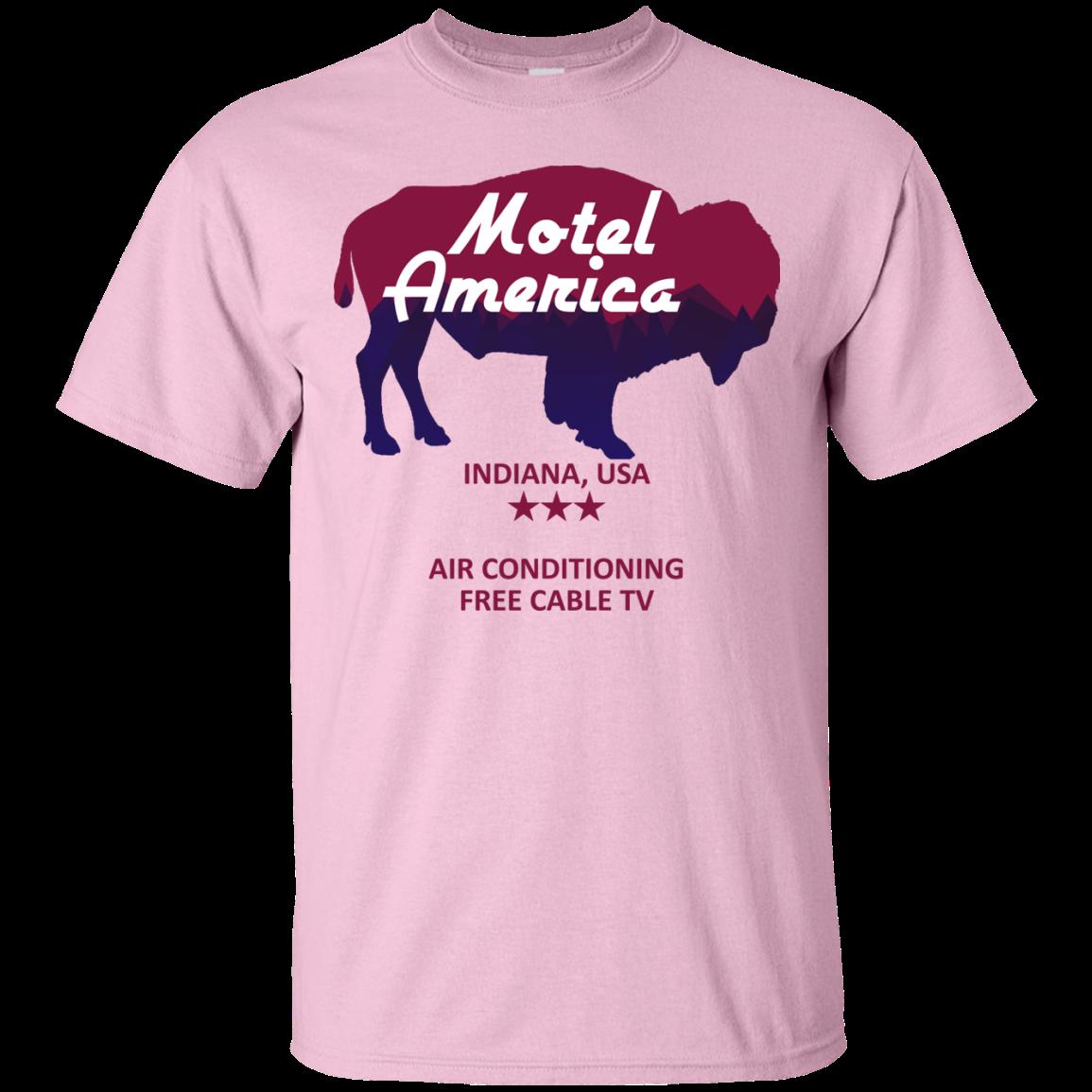 image 380px Motel America, Indiana USA Shirt Home of the Gods T Shirts