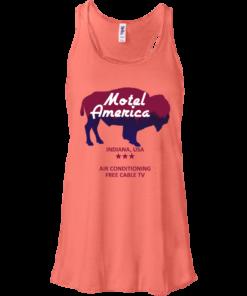 image 382 247x296px Motel America, Indiana USA Shirt Home of the Gods T Shirts