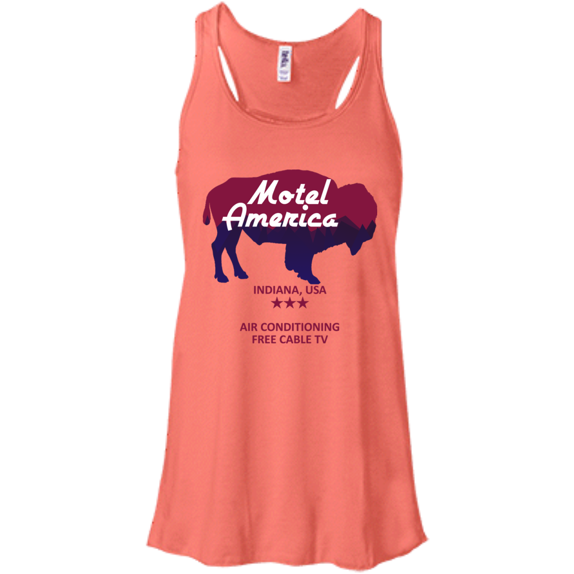 image 382px Motel America, Indiana USA Shirt Home of the Gods T Shirts