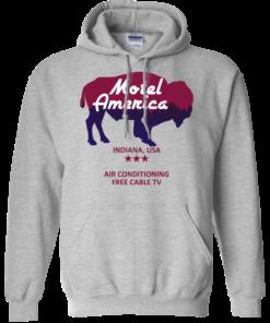 image 383 247x296px Motel America, Indiana USA Shirt Home of the Gods T Shirts