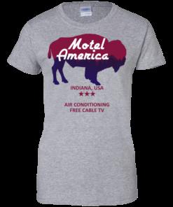 image 386 247x296px Motel America, Indiana USA Shirt Home of the Gods T Shirts