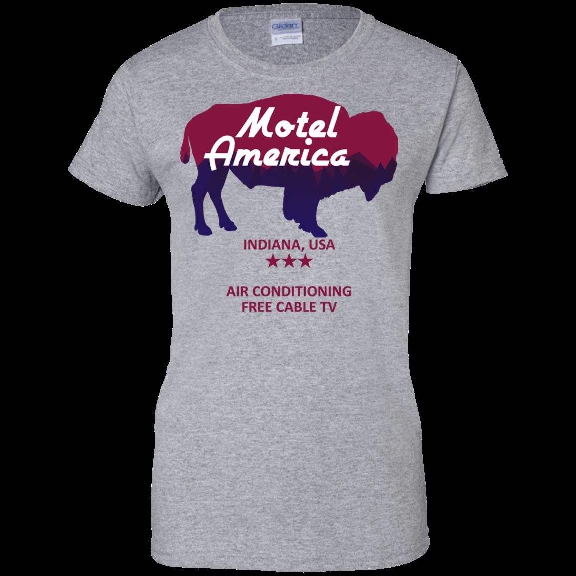 image 386px Motel America, Indiana USA Shirt Home of the Gods T Shirts