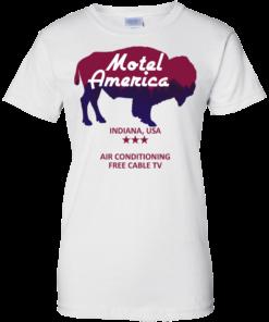 image 387 247x296px Motel America, Indiana USA Shirt Home of the Gods T Shirts