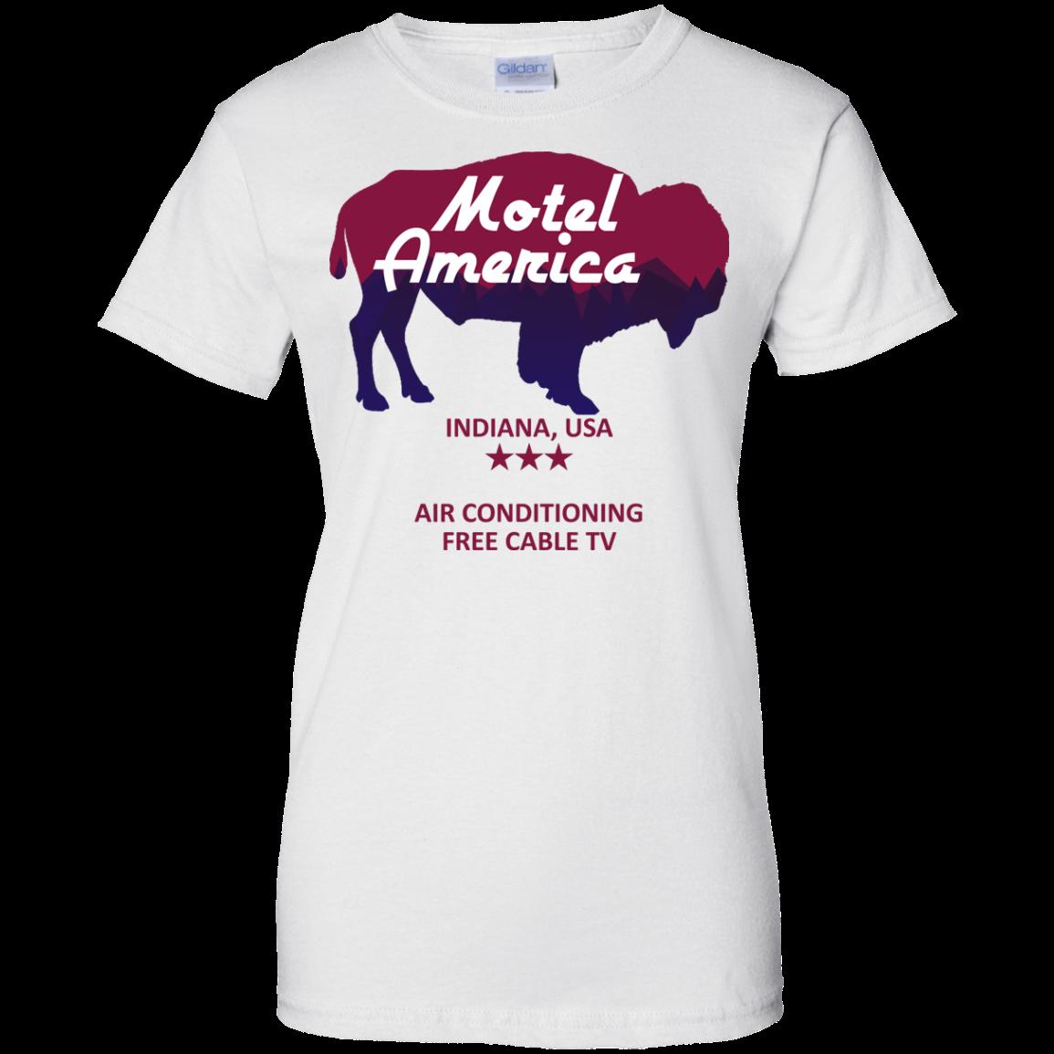 image 387px Motel America, Indiana USA Shirt Home of the Gods T Shirts