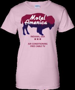 image 388 247x296px Motel America, Indiana USA Shirt Home of the Gods T Shirts