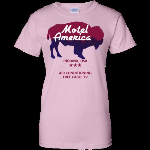 image 388 490x490px Motel America, Indiana USA Shirt Home of the Gods T Shirts