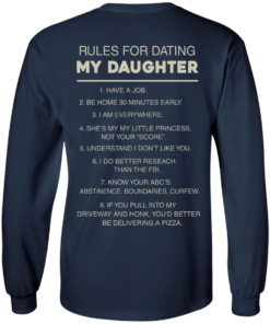 image 45 247x296px Rules For Dating My Daughter T Shirt, Hoodies & Tank Top