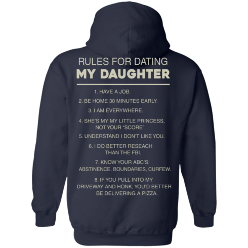 image 47 490x490px Rules For Dating My Daughter T Shirt, Hoodies & Tank Top