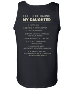 image 49 247x296px Rules For Dating My Daughter T Shirt, Hoodies & Tank Top