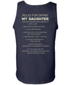 image 50 247x296px Rules For Dating My Daughter T Shirt, Hoodies & Tank Top