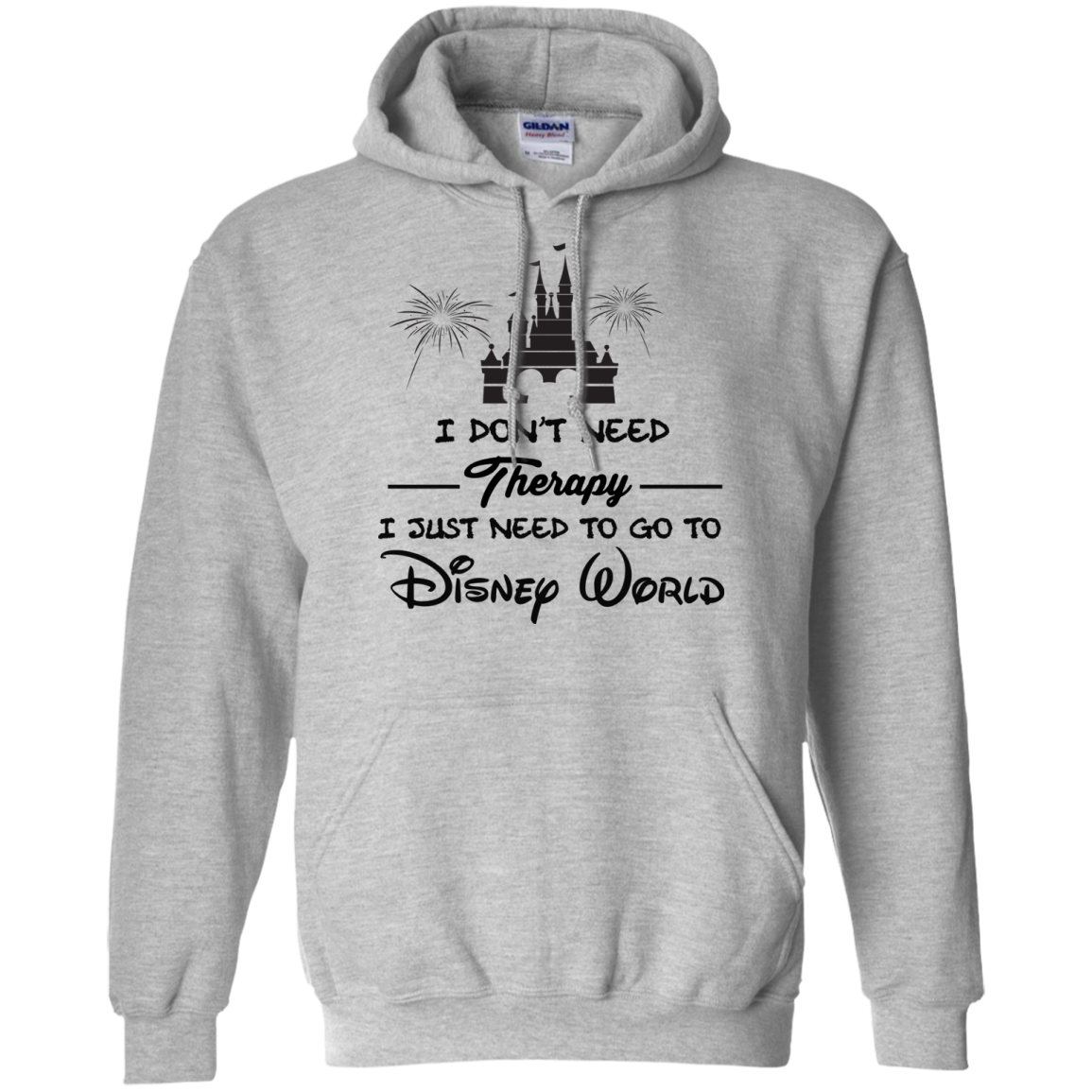 image 518px I Don't Need Therapy I Just Need To Go To Disney World T Shirts