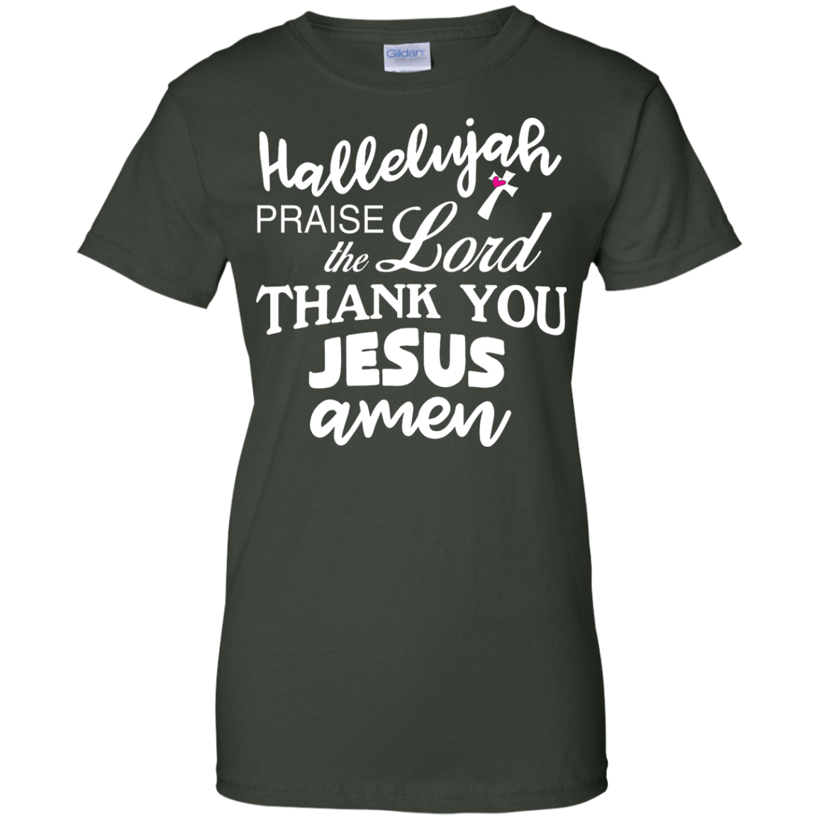 image 536px Hallelujah Praise The Lord Thank You Jesus Amen T Shirts, Hoodies