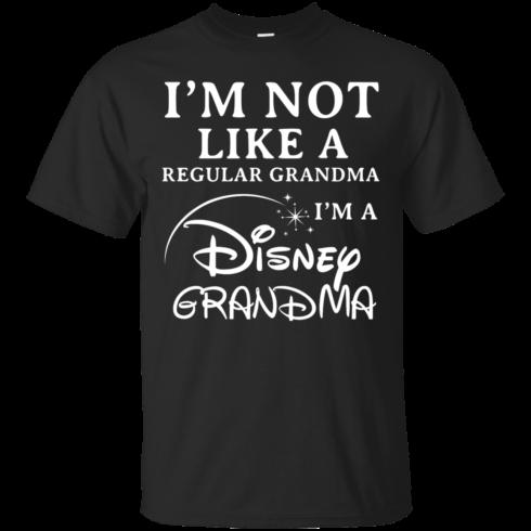image 638 490x490px I'm Not Like A Regular Grandma I'm A Disney Grandma T Shirts, Hoodies, Sweater
