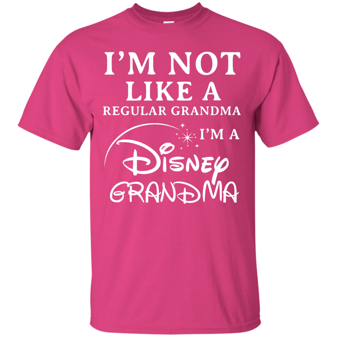 image 639px I'm Not Like A Regular Grandma I'm A Disney Grandma T Shirts, Hoodies, Sweater