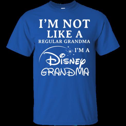 image 640 490x490px I'm Not Like A Regular Grandma I'm A Disney Grandma T Shirts, Hoodies, Sweater