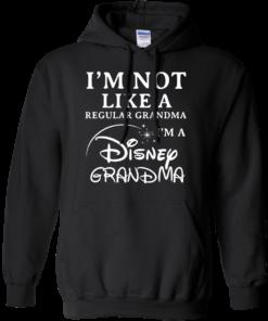 image 641 247x296px I'm Not Like A Regular Grandma I'm A Disney Grandma T Shirts, Hoodies, Sweater