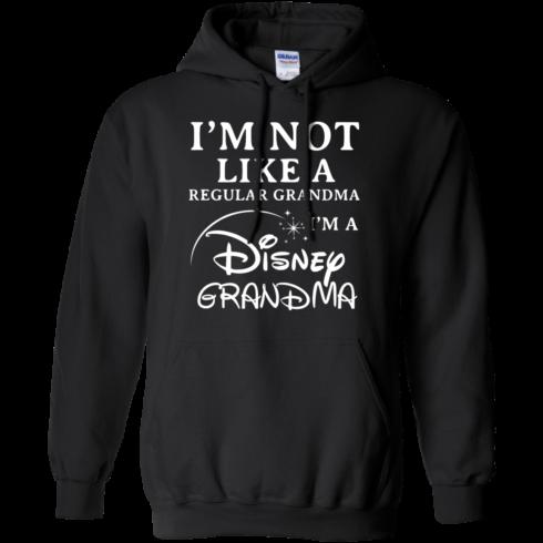 image 641 490x490px I'm Not Like A Regular Grandma I'm A Disney Grandma T Shirts, Hoodies, Sweater