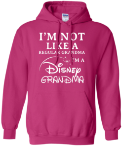 image 642 247x296px I'm Not Like A Regular Grandma I'm A Disney Grandma T Shirts, Hoodies, Sweater