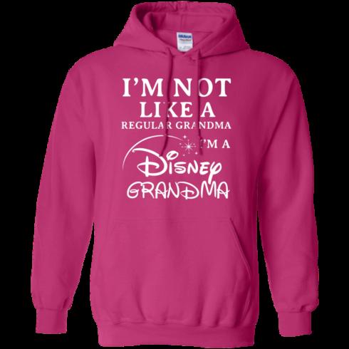 image 642 490x490px I'm Not Like A Regular Grandma I'm A Disney Grandma T Shirts, Hoodies, Sweater